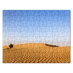 Desert Dunes With Blue Sky Rectangular Jigsaw Puzzl by Ucco