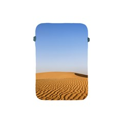 Desert Dunes With Blue Sky Apple Ipad Mini Protective Soft Cases by Ucco