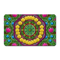 Bohemian Chic In Fantasy Style Magnet (rectangular) by pepitasart