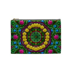 Bohemian Chic In Fantasy Style Cosmetic Bag (medium)  by pepitasart