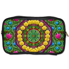 Bohemian Chic In Fantasy Style Toiletries Bags 2 Side by pepitasart