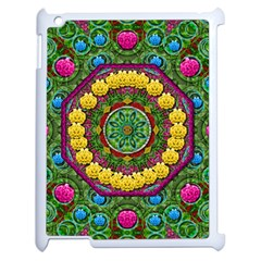 Bohemian Chic In Fantasy Style Apple Ipad 2 Case (white) by pepitasart