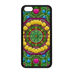 Bohemian Chic In Fantasy Style Apple Iphone 5c Seamless Case (black) by pepitasart