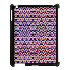 Snowflake And Crystal Shapes 5 Apple Ipad 3/4 Case (black) by Cveti