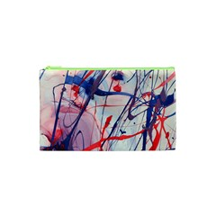 Messy Love Cosmetic Bag (xs) by LaurenTrachyArt