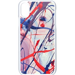 Messy Love Apple Iphone X Seamless Case (white) by LaurenTrachyArt