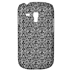 Hand Drawing Tribal Black White Galaxy S3 Mini by Cveti