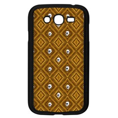 Funny Little Skull Pattern, Golden Samsung Galaxy Grand Duos I9082 Case (black) by MoreColorsinLife