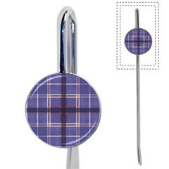 Purple Heather Plaid Book Mark by allthingseveryone