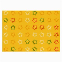 Spray Stars Pattern B Large Glasses Cloth by MoreColorsinLife