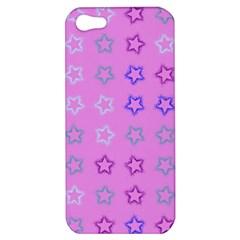 Spray Stars Pattern C Apple Iphone 5 Hardshell Case by MoreColorsinLife