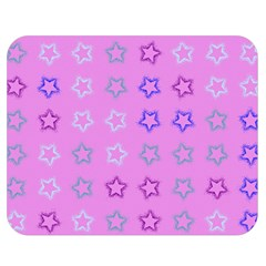 Spray Stars Pattern C Double Sided Flano Blanket (medium)  by MoreColorsinLife