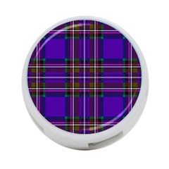 Purple Tartan Plaid 4 Port Usb Hub (one Side) by allthingseveryone