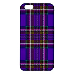 Purple Tartan Plaid Iphone 6 Plus/6s Plus Tpu Case by allthingseveryone