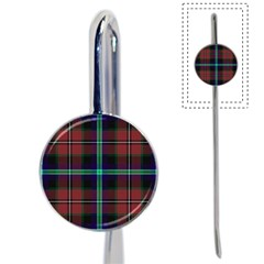 Purple And Red Tartan Plaid Book Mark by allthingseveryone