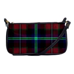 Purple And Red Tartan Plaid Shoulder Clutch Bags by allthingseveryone