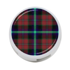 Purple And Red Tartan Plaid 4 Port Usb Hub (one Side) by allthingseveryone