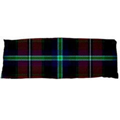 Purple And Red Tartan Plaid Body Pillow Case Dakimakura (two Sides) by allthingseveryone
