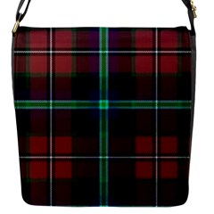 Purple And Red Tartan Plaid Flap Messenger Bag (s) by allthingseveryone