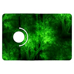 Artsy Bright Green Trees Kindle Fire Hdx Flip 360 Case