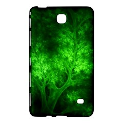 Artsy Bright Green Trees Samsung Galaxy Tab 4 (7 ) Hardshell Case  by allthingseveryone