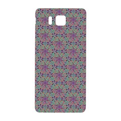 Flower Kaleidoscope Hand Drawing 2 Samsung Galaxy Alpha Hardshell Back Case by Cveti
