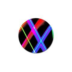 Xmas Light Paintings Golf Ball Marker (10 Pack) by Celenk