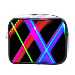 Xmas Light Paintings Mini Toiletries Bags by Celenk