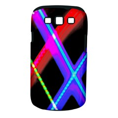 Xmas Light Paintings Samsung Galaxy S Iii Classic Hardshell Case (pc+silicone) by Celenk