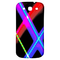 Xmas Light Paintings Samsung Galaxy S3 S Iii Classic Hardshell Back Case by Celenk