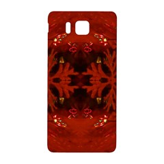 Red Abstract Samsung Galaxy Alpha Hardshell Back Case by Celenk