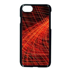 A Christmas Light Painting Apple Iphone 8 Seamless Case (black) by Celenk