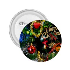 Decoration Christmas Celebration Gold 2 25  Buttons by Celenk