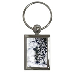 Earth Right Now Key Chains (rectangle)  by Celenk