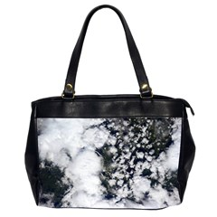 Earth Right Now Office Handbags (2 Sides)  by Celenk