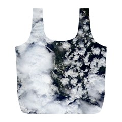 Earth Right Now Full Print Recycle Bags (l)  by Celenk