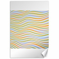 Art Abstract Colorful Colors Canvas 20  X 30   by Celenk