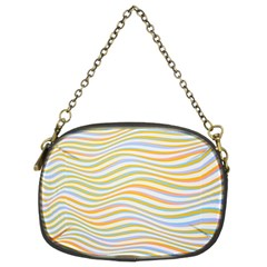 Art Abstract Colorful Colors Chain Purses (two Sides)  by Celenk