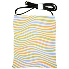 Art Abstract Colorful Colors Shoulder Sling Bags by Celenk