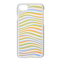 Art Abstract Colorful Colors Apple Iphone 7 Seamless Case (white) by Celenk