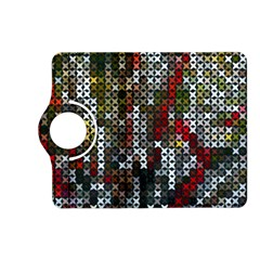 Christmas Cross Stitch Background Kindle Fire Hd (2013) Flip 360 Case by Celenk