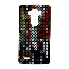 Christmas Cross Stitch Background Lg G4 Hardshell Case by Celenk