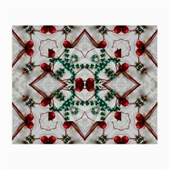 Christmas Paper Small Glasses Cloth by Celenk