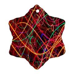Wave Behaviors Ornament (snowflake) by Celenk
