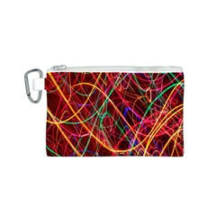 Wave Behaviors Canvas Cosmetic Bag (s) by Celenk
