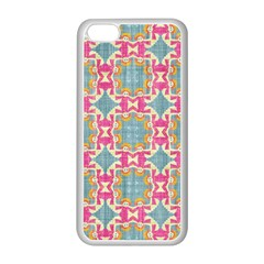 Christmas Wallpaper Apple Iphone 5c Seamless Case (white) by Celenk