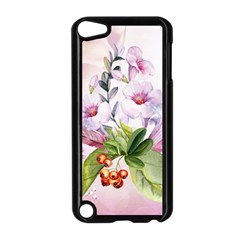 Wonderful Flowers, Soft Colors, Watercolor Apple Ipod Touch 5 Case (black) by FantasyWorld7