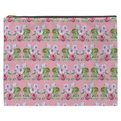 Floral Pattern Cosmetic Bag (xxxl)  by SuperPatterns