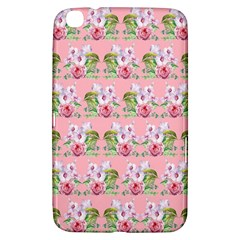 Floral Pattern Samsung Galaxy Tab 3 (8 ) T3100 Hardshell Case  by SuperPatterns