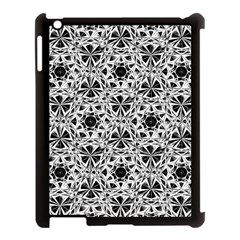 Star Crystal Black White 1 And 2 Apple Ipad 3/4 Case (black) by Cveti